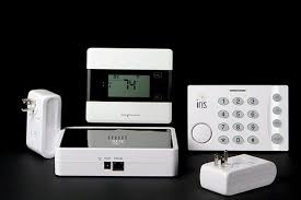 What is a smart home security solution